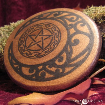 "Mini plaque d'autel ""Magic Crescent"""