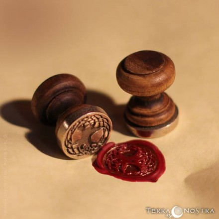 """Tree of Life"" wax seal"