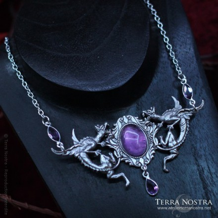 """""""The Guardian's Shadow"""" necklace"""