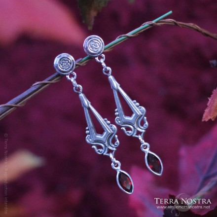 """Celtic Mist"" earrings"