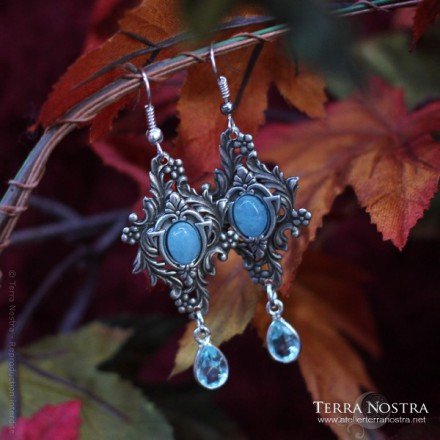 """Boucles d'Oreilles """"The Garden of Whispers"""""""